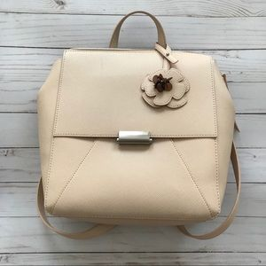 Zara Cream Backpack